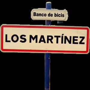 Logo Los Martinez Banco de bicis Alquiler y venta de bicicletas especiales para ocasiones especiales