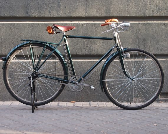 Orbea años 50 verde inglés en Madrid