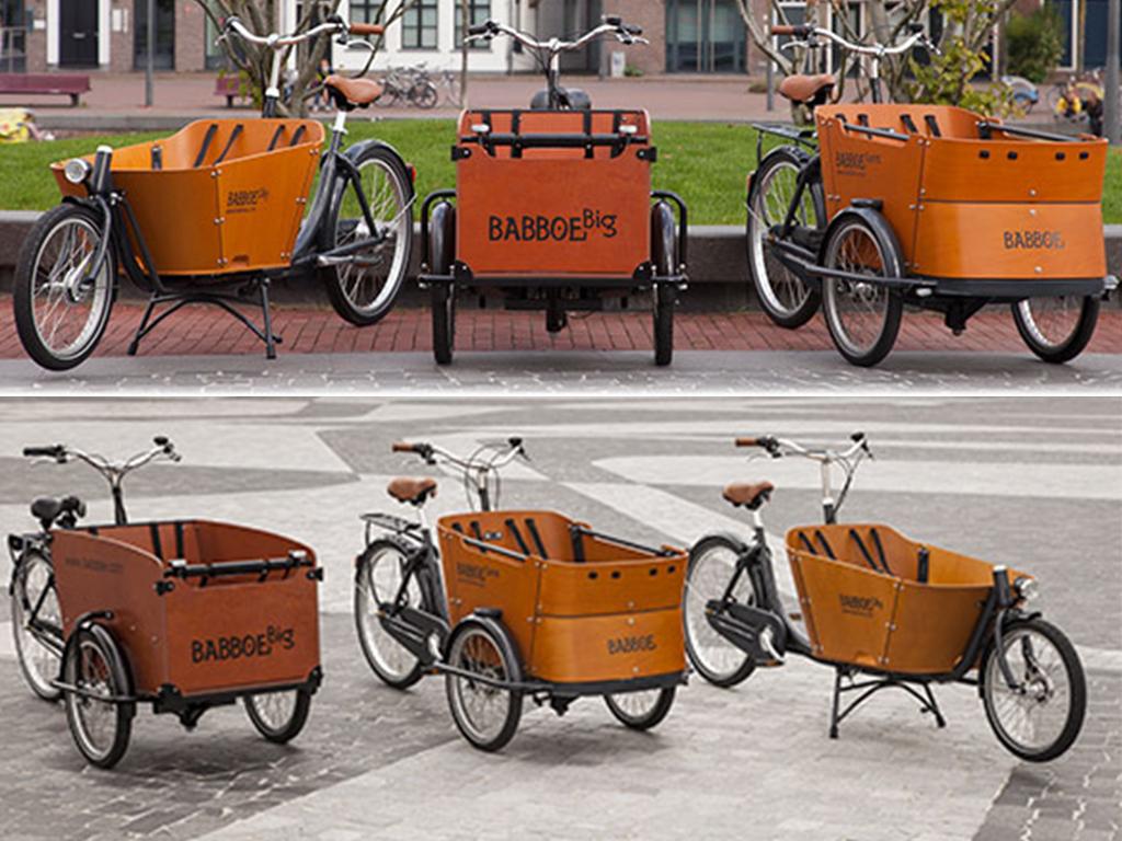 Los Martínez Banco de bicis Alquiler bicicletas especiales cargobike carga bakfiet triciclo bicicarro