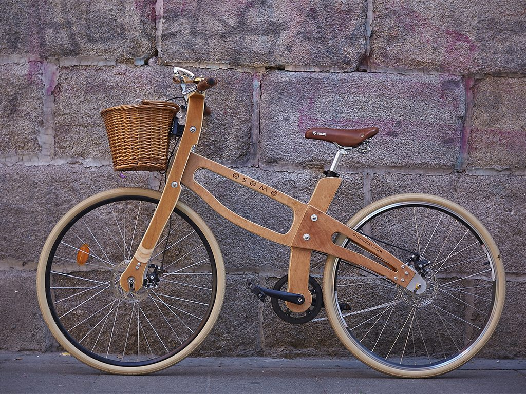 Los Martínez Banco de bicis Alquiler bicicletas madera Avila