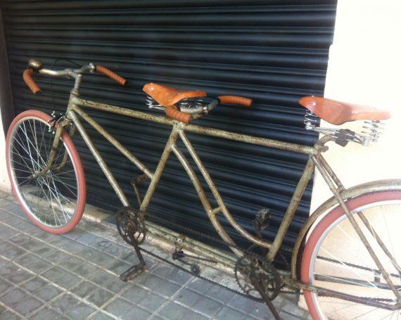 Tándem vintage en Barcelona