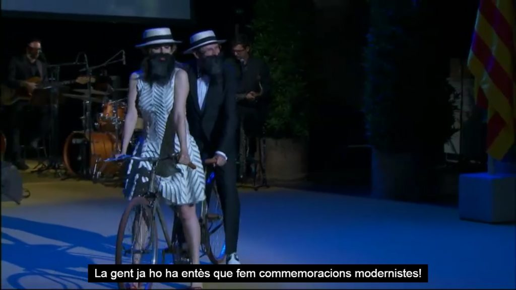 los martínez banco de bicis tándem vintage modernista barcelona premis catalunya