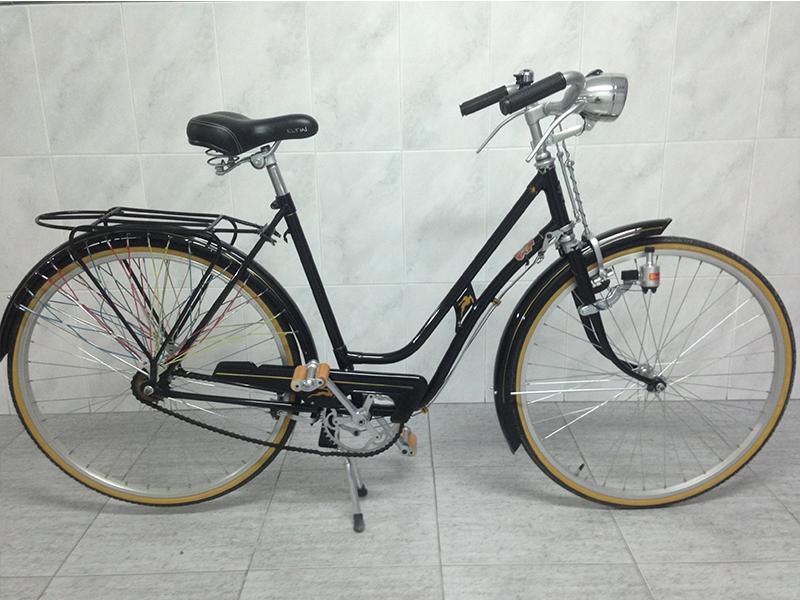Los Martínez Banco de bicis Alquiler bicicletas BH chica Alicante
