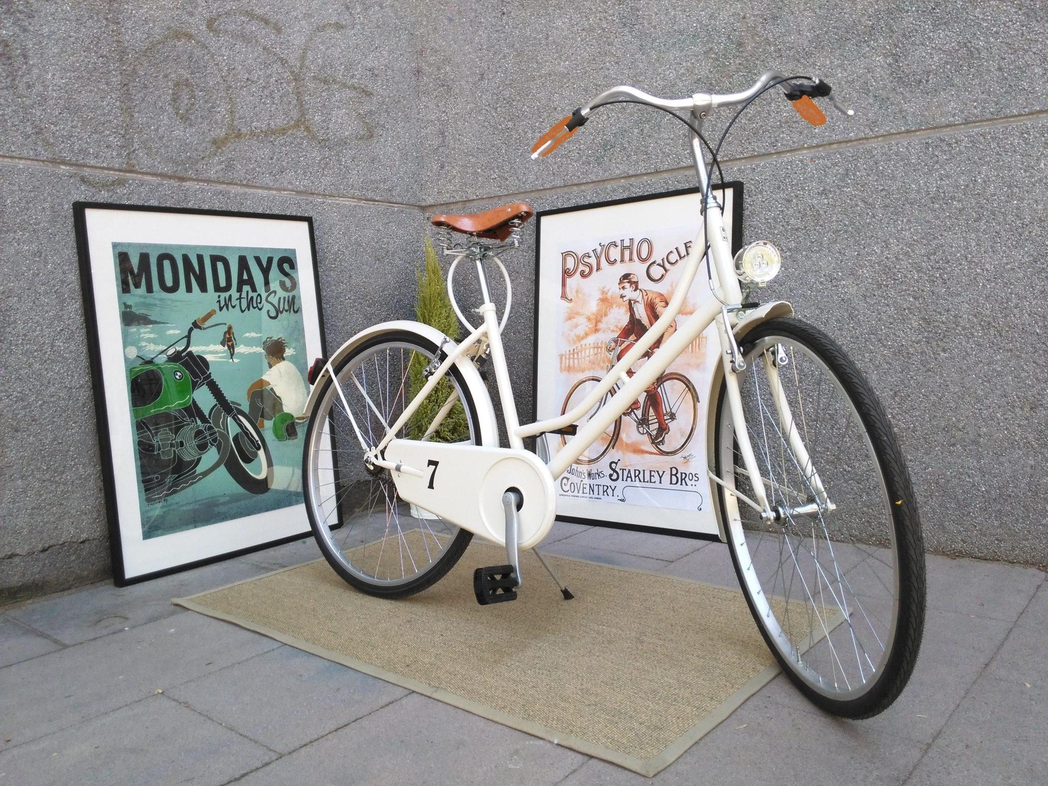 Los Martínez Banco de bicis Alquiler bicicletas Capri Berlin Barcelona