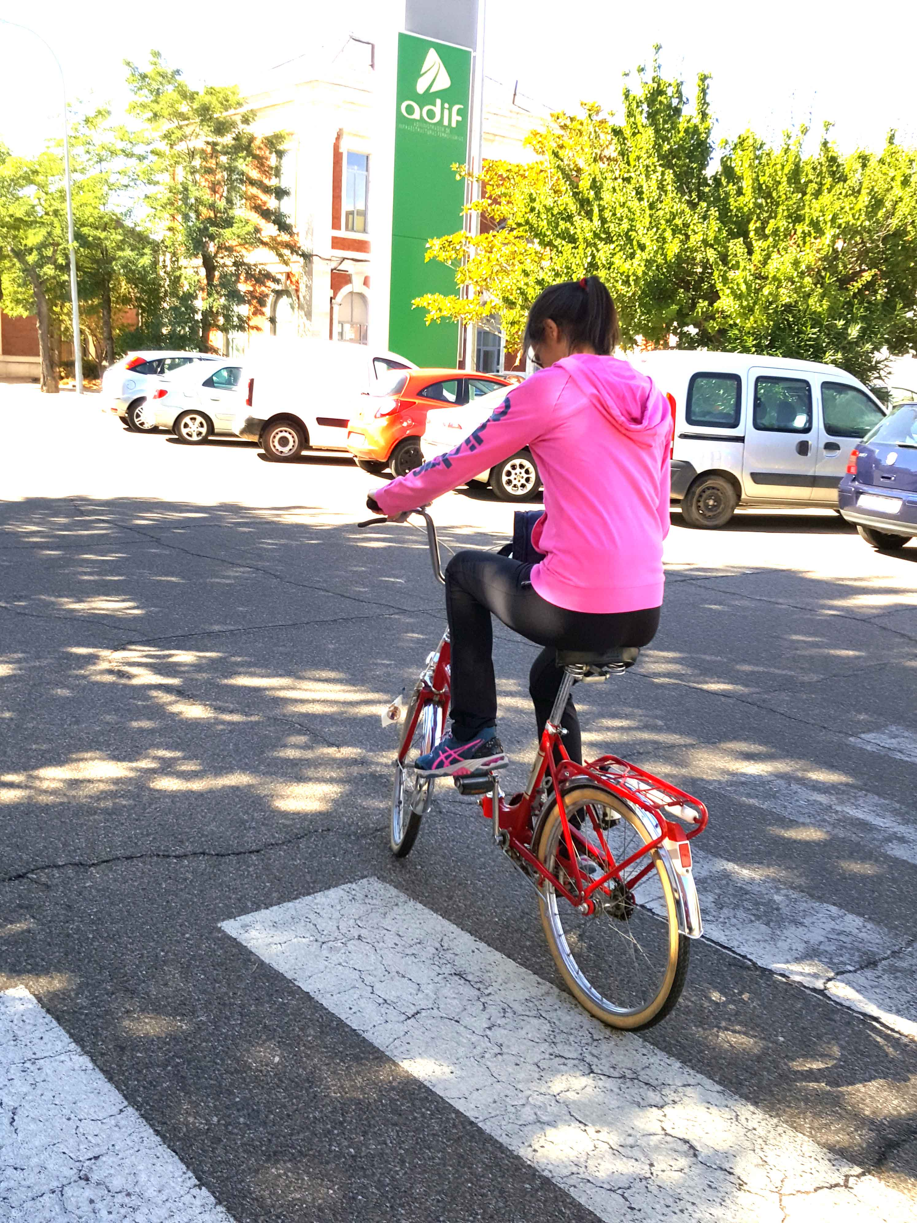 Los Martínez Banco de bicis BH años 80 vendida Medina Ciclos