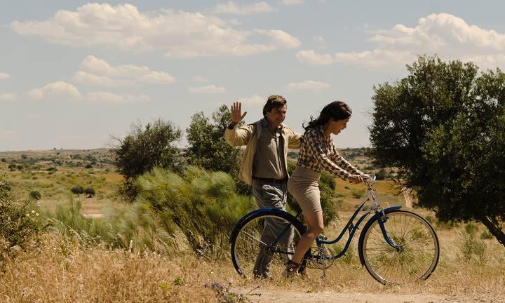 Los Martínez Alquiler de bicis rodaje televisión Gran Reserva