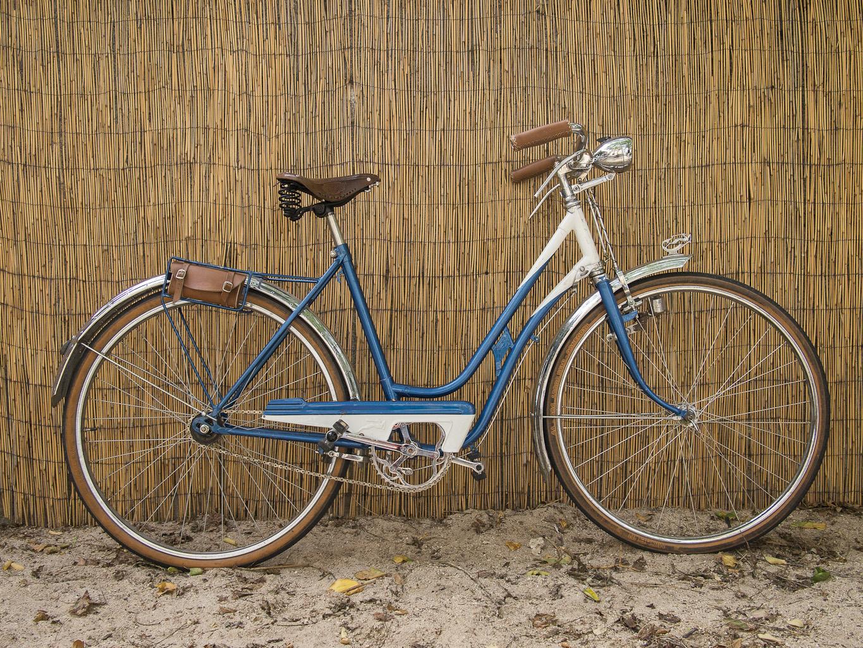 Los Martínez Banco de bicis Alquiler bicicletas BH 60 azul hugo ING
