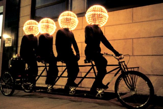 De luces y bicis