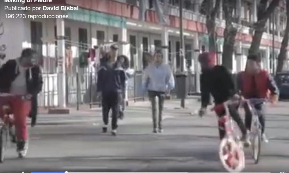 Expectantes con el nuevo videoclip de David Bisbal protagonizado por tres bicis Martínez