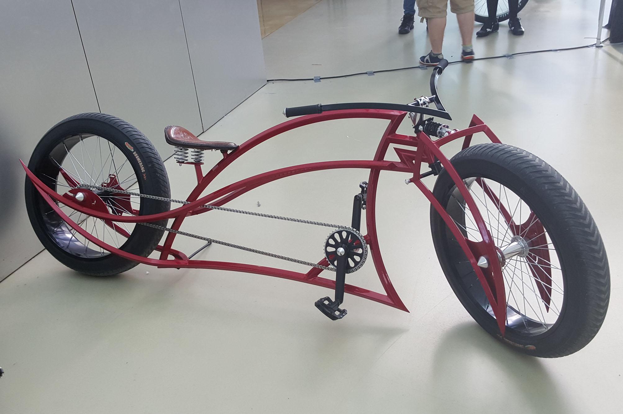 Bicis locas bicicletas custom Los Martinez Banco de bicis