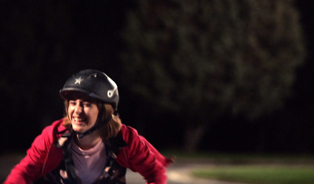 BMX Martínez en el anuncio de TV de Vodafone con Steve Wozniak, inventor de Apple