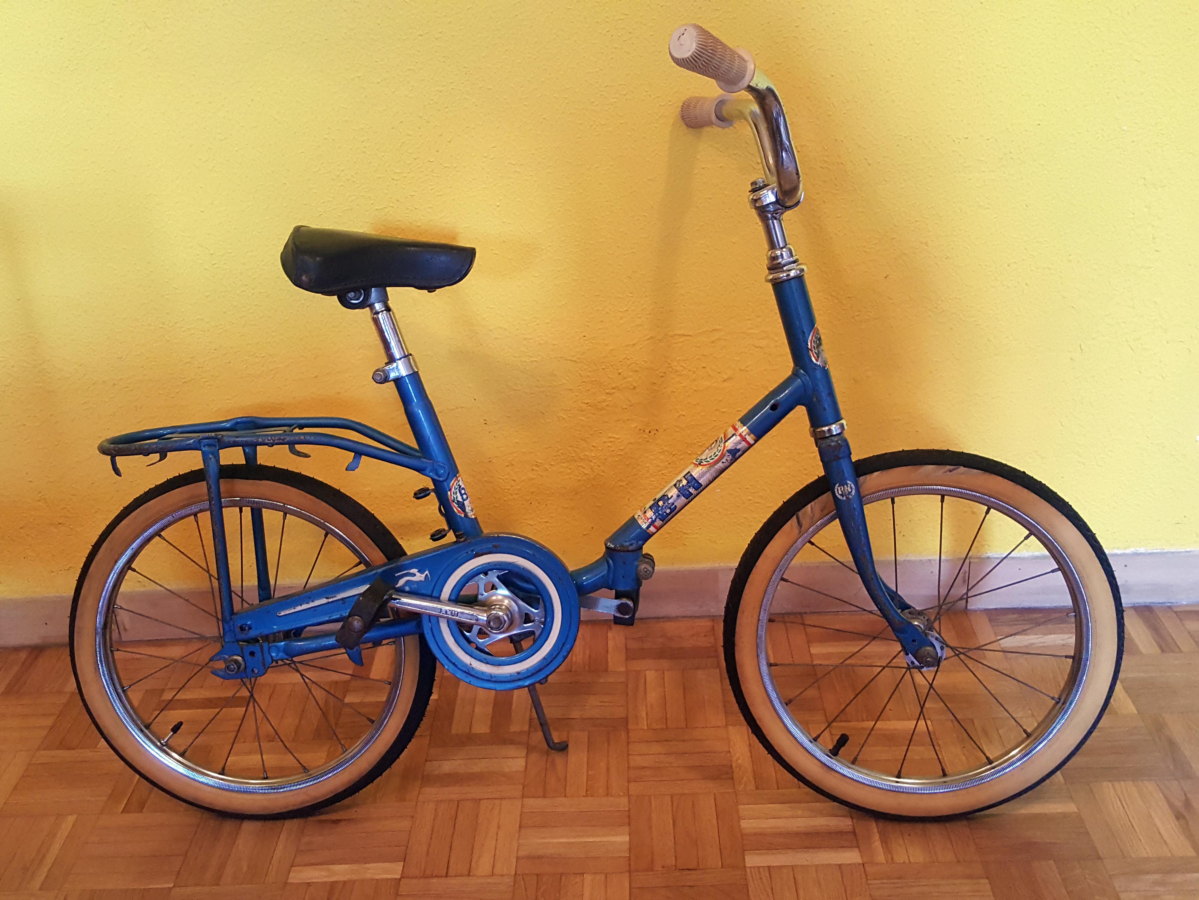 los martinez banco de bicis bh infantil plegable